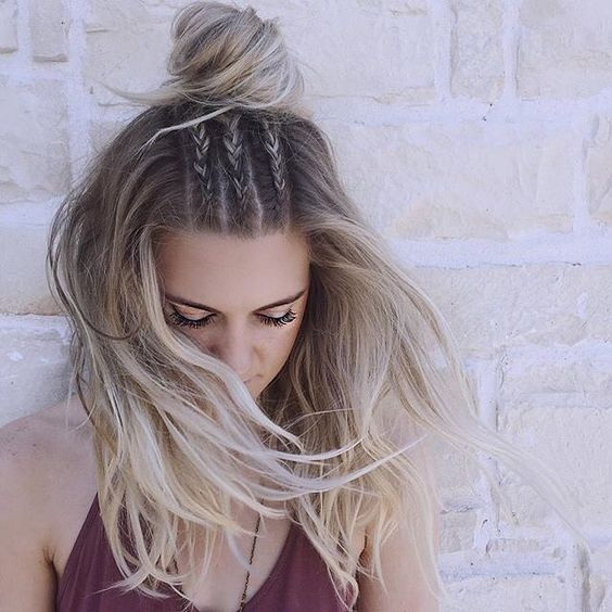 long hair -A collection of ideas for braided hair In 2017 8