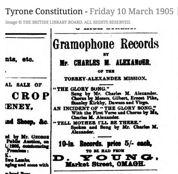 Alexaner Omagh 1905