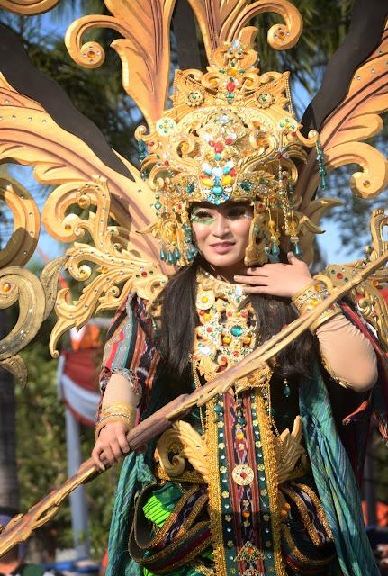 Karnaval Budaya dan Pawai Mobil Hias, Meriahkan HUT Kemerdekaan RI ke 73 Di Klaten