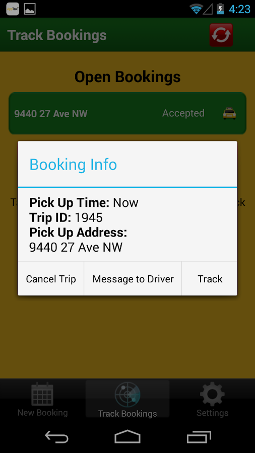APPTAXI - ANYTIME TAXI- screenshot