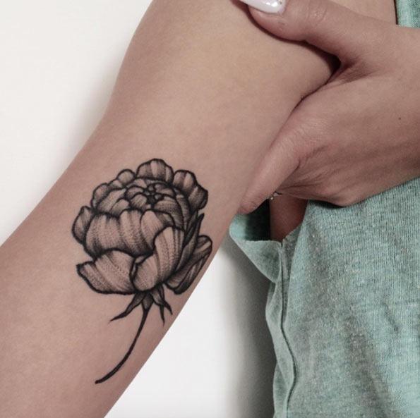 Esta única flor