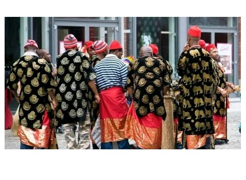 The Igbo leaders abolish Osu( caste ) at Nri on Friday. Read more....