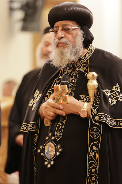His Holiness Pope Tawadros II visit to St. Mark LA - _09A9136.JPG