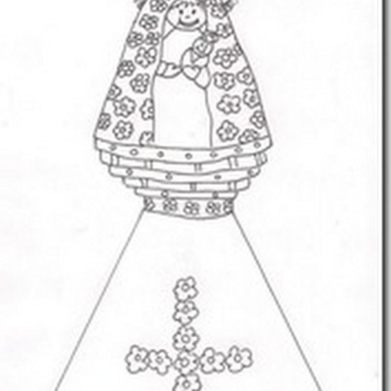 Dibujos Virgen del Pilar para colorear