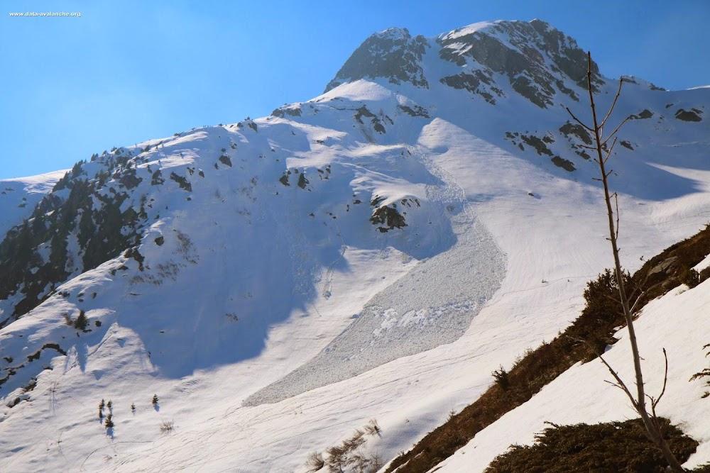 Avalanche Maurienne, secteur Saint Colomban des Villards, Combe des Croix - Balmettes - Photo 1 - © Duclos Alain