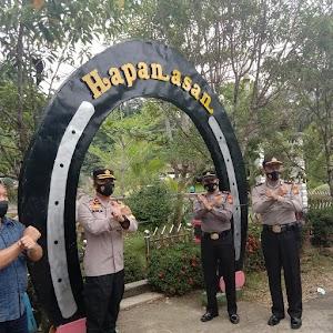 Cegah Penyebaran Covid-19, Wakapolres Rohul Pantau 5  Objek Wisata