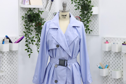 1950s/60s Sewing Pattern - THE LITA UNISEX TRENCH