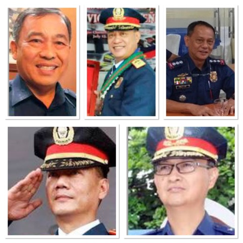Pictures of PNP involve in Illigal Drugs