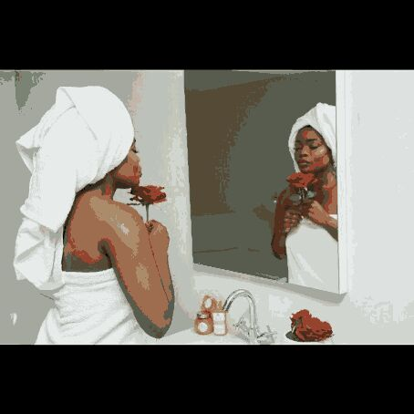 Bisola shares bathroom photos, and everybody is tripping