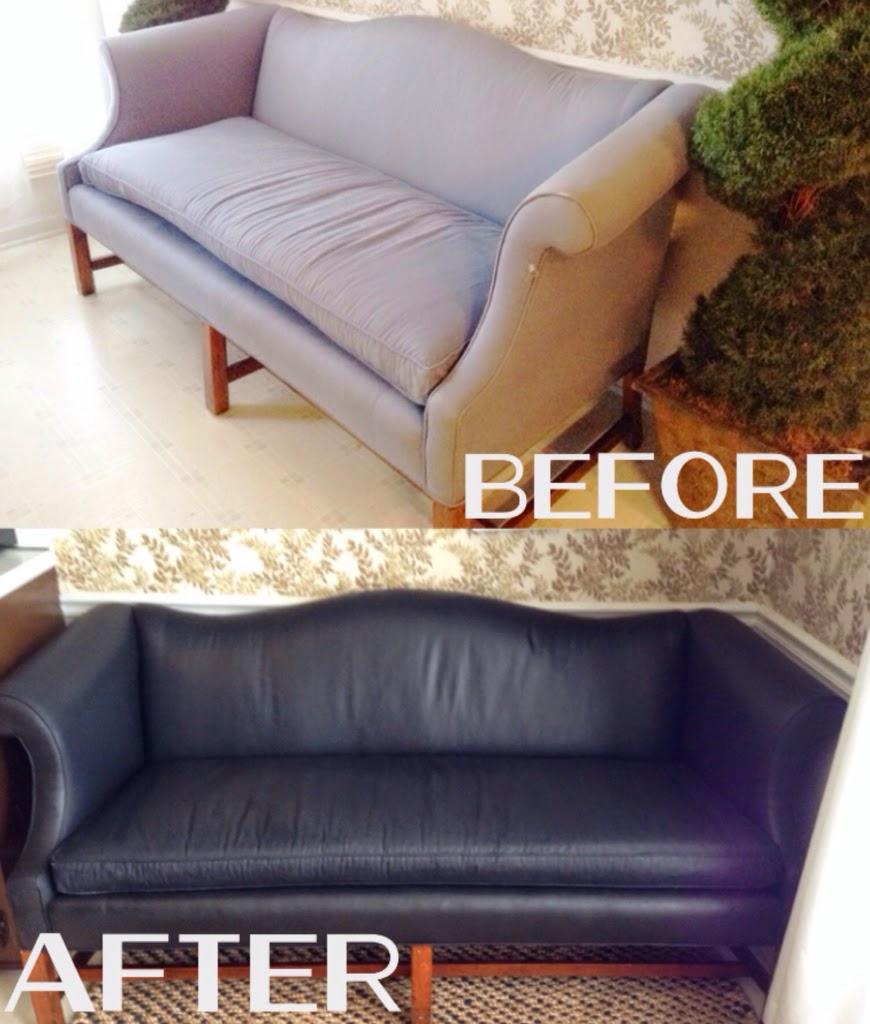 diy painted camel back sofa domicile 37