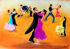 La Danse 40 x 30 Février 2006