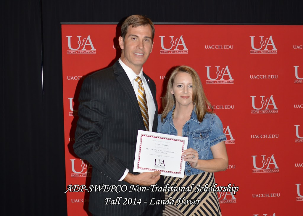 Scholarship Awards Ceremony Fall 2014 - Landa%2BHover.jpg