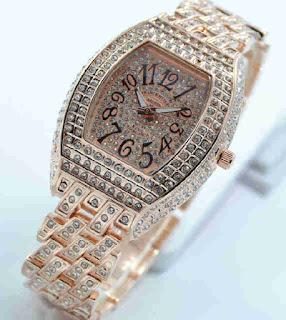 jam tangan Franck muller full rosegold