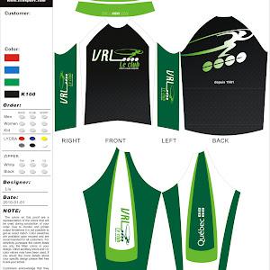 2011-2012 Skinsuit et manteau VRL Le Club