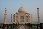 The Taj Mahal is a mausoleum for the wife of a Mughal emperor.
