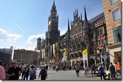 Marienplatz Neues Rathaus