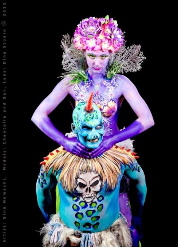 FANTASY BODY PAINTING  bodypaint  I Love Body Art