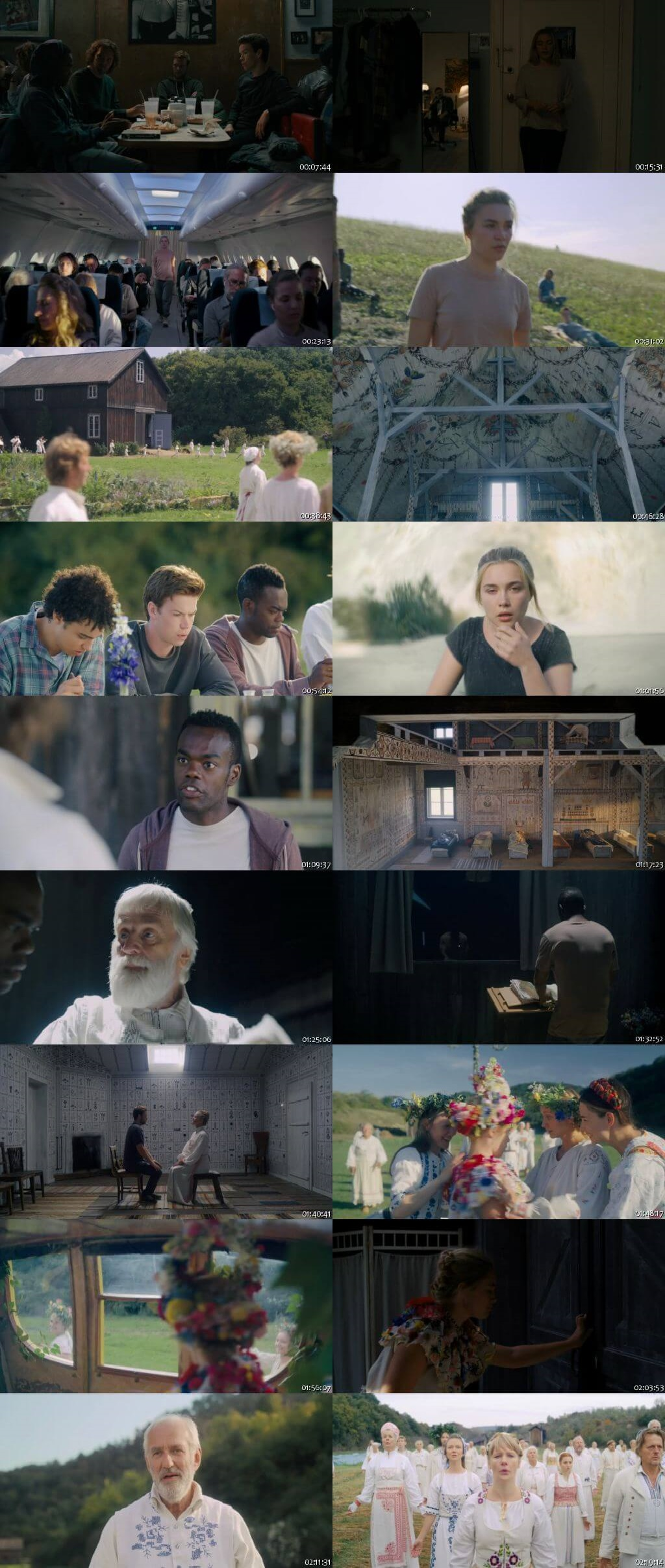 Screen Shot Of Midsommar 2019 Full Movie Download Free Watch Online 300MB