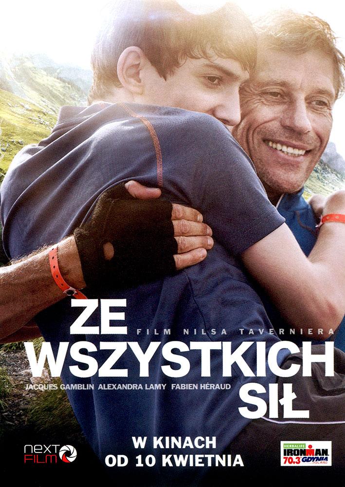 Ulotka filmu 'Ze Wszystkich Sił (przód)'