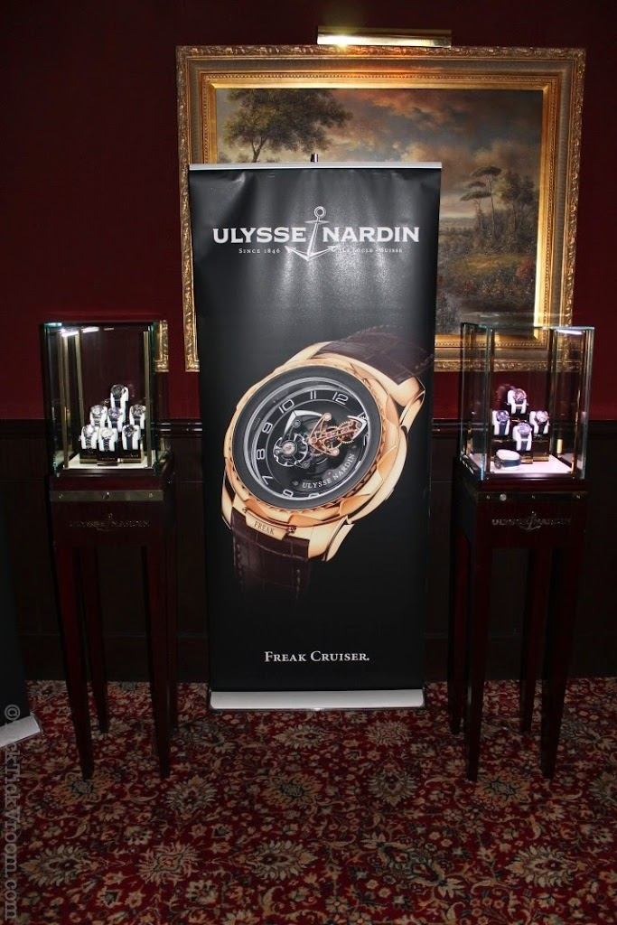 Ulysse Nardin Boca Raton Boutique Capital Grille Dinner 8615