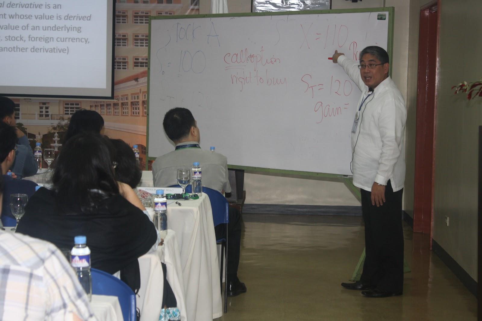 Financial Derivates Seminar