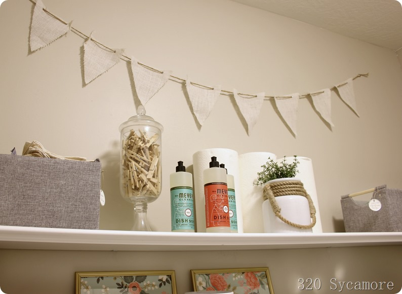 laundry room shelves ideas