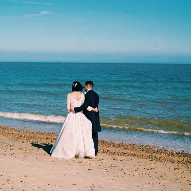 This was a new Mr & Mrs A to Beach