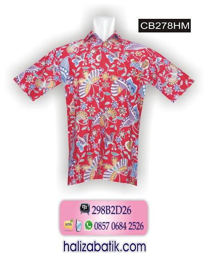 CB278HM Butik Baju, Busana Batik, Desain Batik Modern, CB278HM