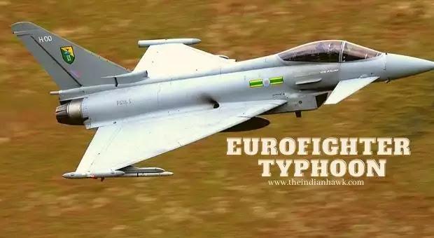 'monster' Typhoon Fighter Jet