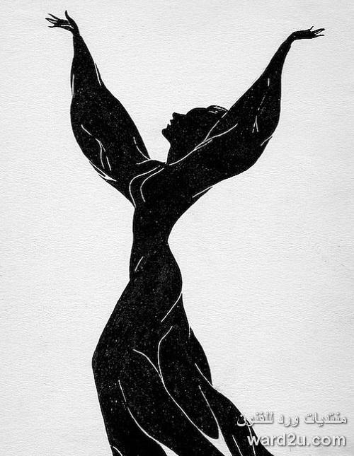 سلويت فى تصميمات منوعة silhouettes