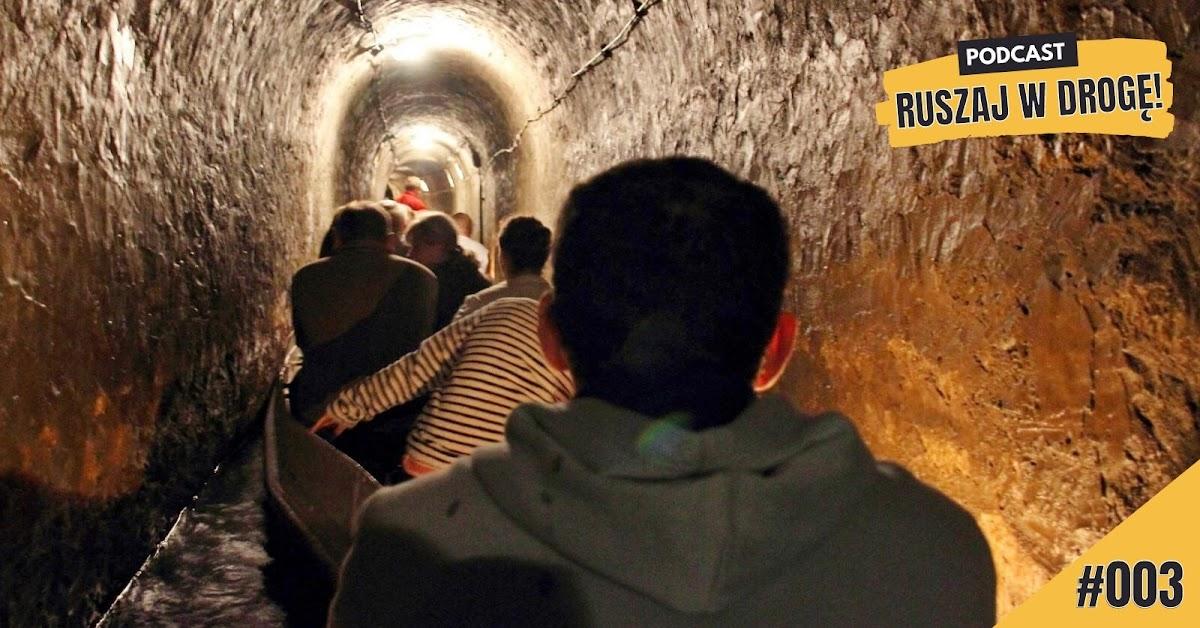 Podziemny spływ w Sztolni Czarnego Pstrąga w Tarnowskich Górach