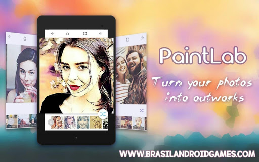 Photo Cartoon Camera- PaintLab