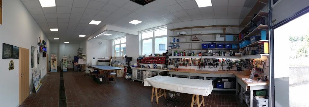 Halleninnenbereich nach dem Umbau