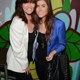 WWW.ENTSIMAGES.COM -  Vicki and daughter Louise Michelle     at     Gary Bushell - Face Down The book Launch Party at Golden Bee Singer Street London October 16th 2013                               Photo Mobis Photos/OIC 0203 174 1069