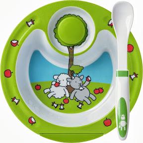 assiette chauffante bébé EMSA