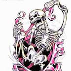 bones - tattoos for men