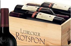 Vino tinto de Lübeck 'Rotspon'