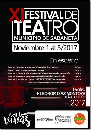 FESTIVAL DE TEATRO123