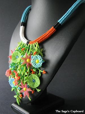 Tropical Toucan Necklace