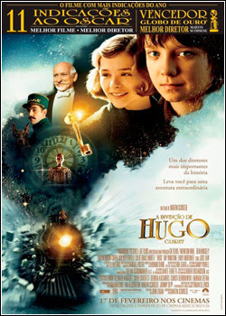 Download A Invenção de Hugo Cabret BDRip AVI Dual Áudio RMVB Dublado