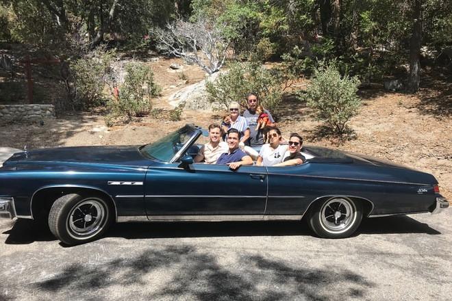 Gorgeous 1975 Buick le Sabre custom convertible Hire California