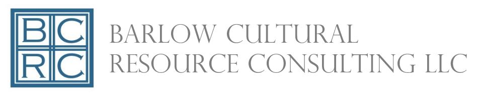 Barlow Cultural Resource Consulting LLC.