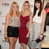 WWW.ENTSIMAGES.COM -    Sian Welby, Ashley James  and Lilah Parsons  at      Whistle and  Bango  launch party at Wolf and Badger, London October 23rd 2014Ashley James, Ania Kubow and Rosie Parkes are showcasing their new brand and bracelets at a celebrity studded press launch                                                 Photo Mobis Photos/OIC 0203 174 1069