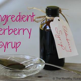 Simple, 3 Ingredient Elderberry Syrup