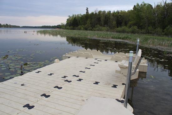 Dock three