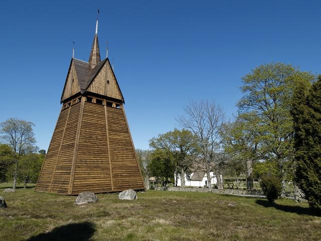 hjortsberga kyrka klocktornet