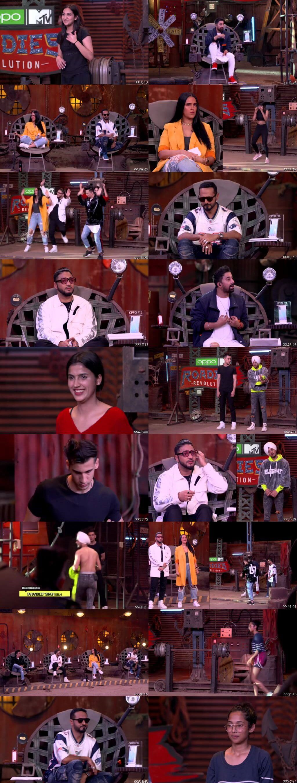 Screenshots Of Hindi Show MTV Roadies Season 18 21st March 2020 300MB 480P HD