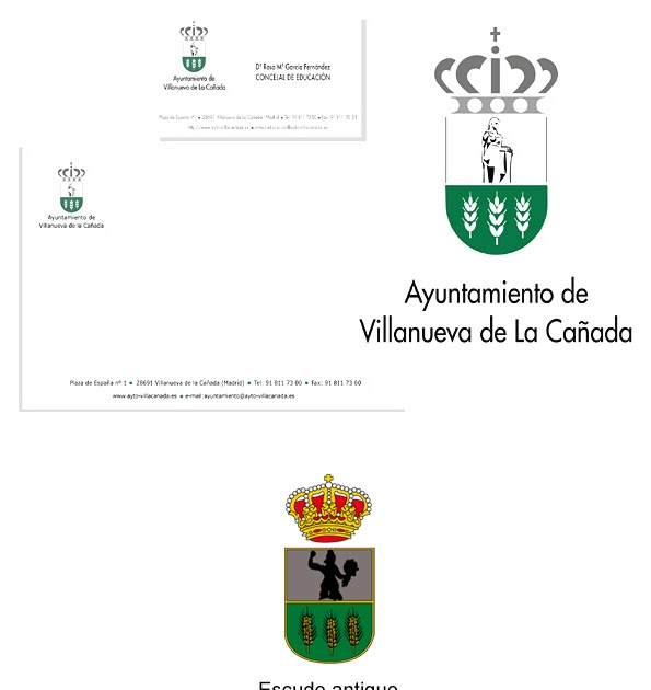 Cristina vidal calder n actualizaci n del escudo de - Cb villanueva de la canada ...