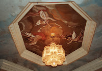 Private Residence/ceiling mural