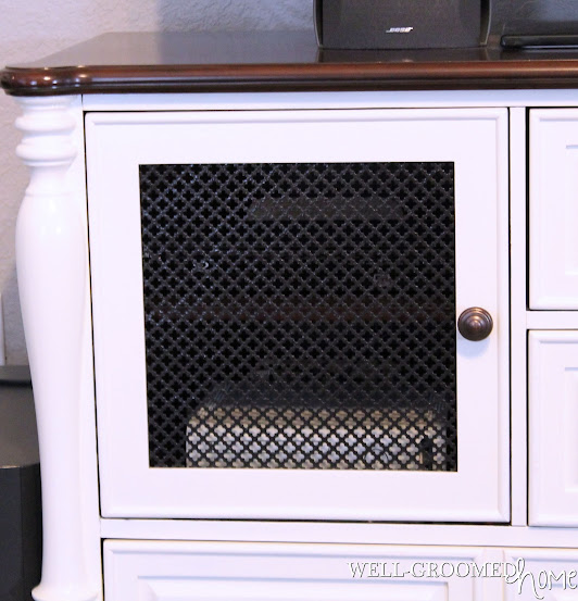 painting a tv cabinet